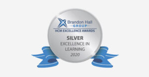 Brandon Hall Group - HCM Excellence Awards - Silver Excellence in Learning 2020